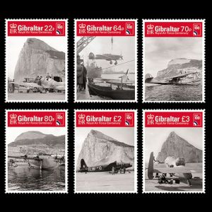 The Rock on stamps of Gibraltar 2018