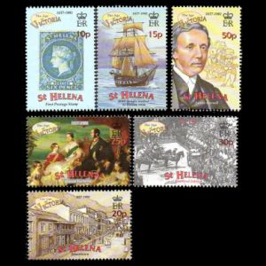 HMS Beagle on 500th anniversary of discovery of St. Helena 2001