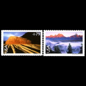 Zion National Park stamps of USA 2009