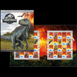 Dinosaurs on stamps of Australia 2018