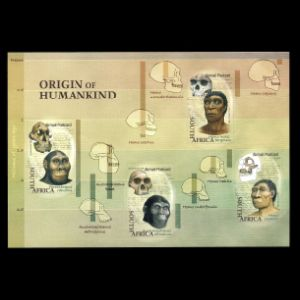 Origin of Humankind on stamps of South Africa 2006