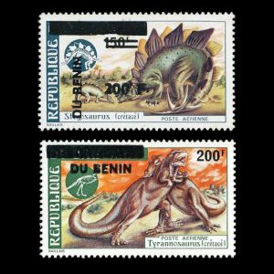 Dinosaurs on stamps of Benin 1994