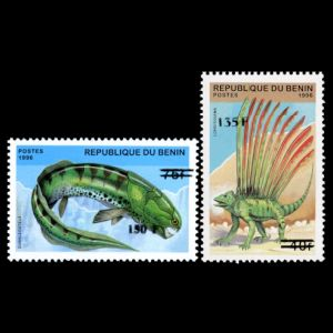 Dinosaurs on stamps of Benin 2000