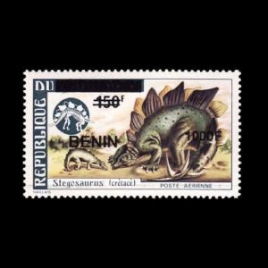 Dinosaurs on stamps of Benin 2009