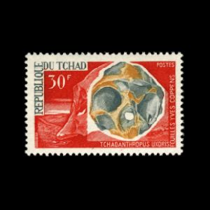 stamp chad_1966