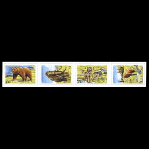 Prehistoric animals on stamps of Ireland 1999