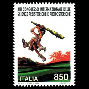 XIII International Congress on pre- and proto-history on stamp of Italy 1996