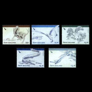 Prehistoric animals, Ancient Reptiles on stamps of New Zealand 1984