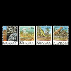 dinosaurs on stamps of Niuafoou 1993