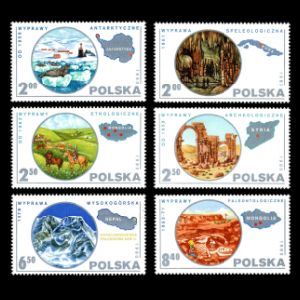 poland_1980 stamps