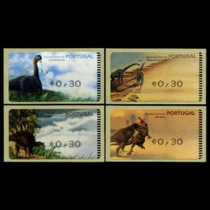Dinosaurs on stamp of Portugal 2003