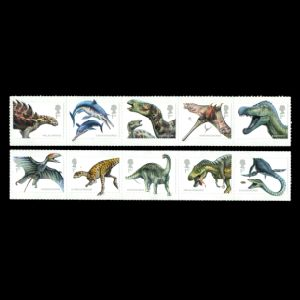 Dinosaurs on stamps of UK 2013