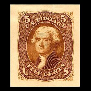 stamp usa_1851_jefferson