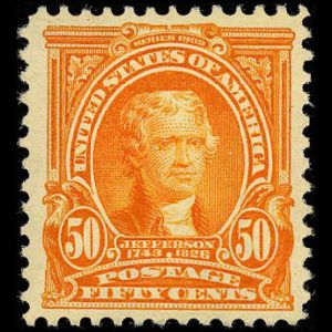 usa_1903_jefferson stamps