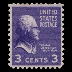 usa_1938_jefferson stamps
