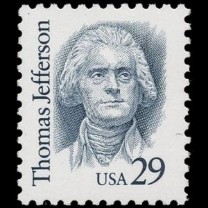 usa_1993_jefferson stamps