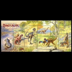 Dinosaurs on stamps of Australia 2013