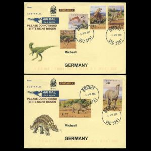 australia_1993_env_used2 stamps