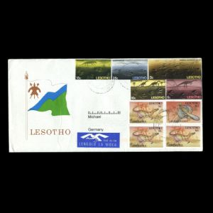 lesotho_1970-1992_env_used stamps
