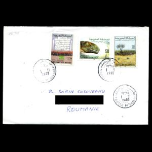morocco_2004-2005_env_used stamps