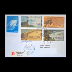 portugal_1999_env_used_signed stamps
