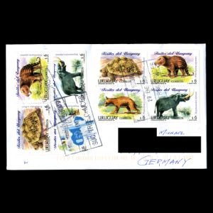uruguay_1998_2015_env_used stamps