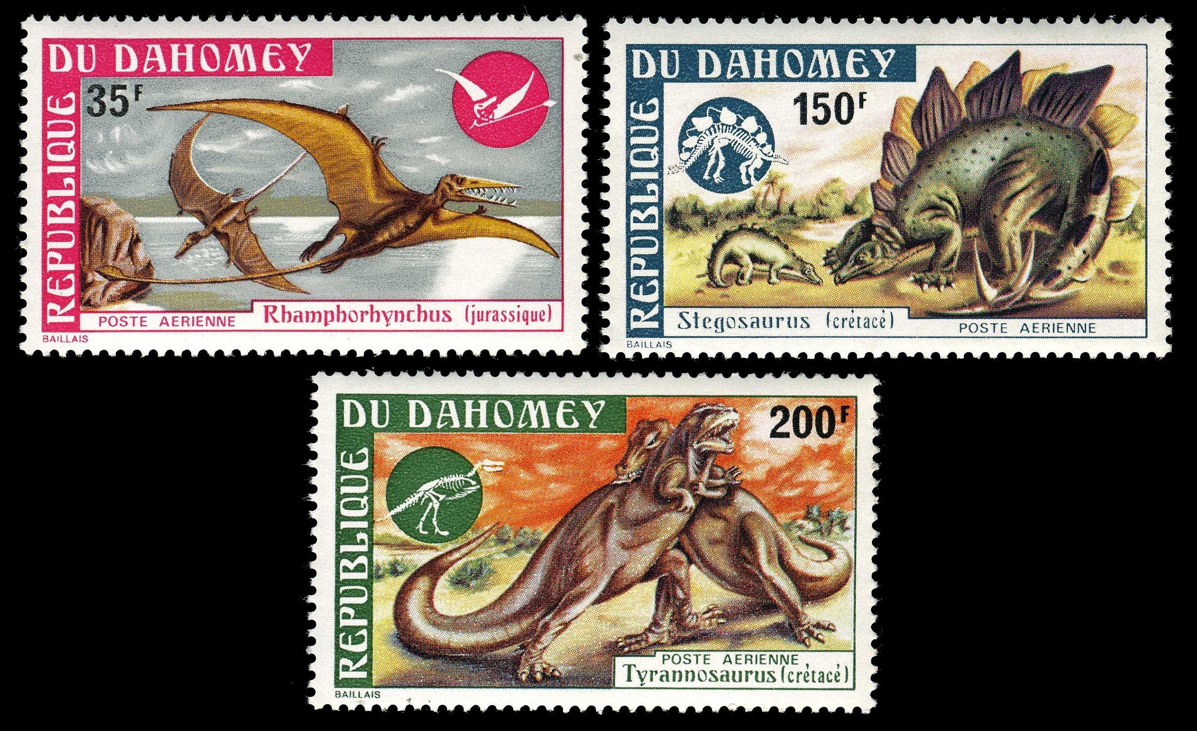 dinosaur stamps prehistoric animals fossils stamps 1970 1971