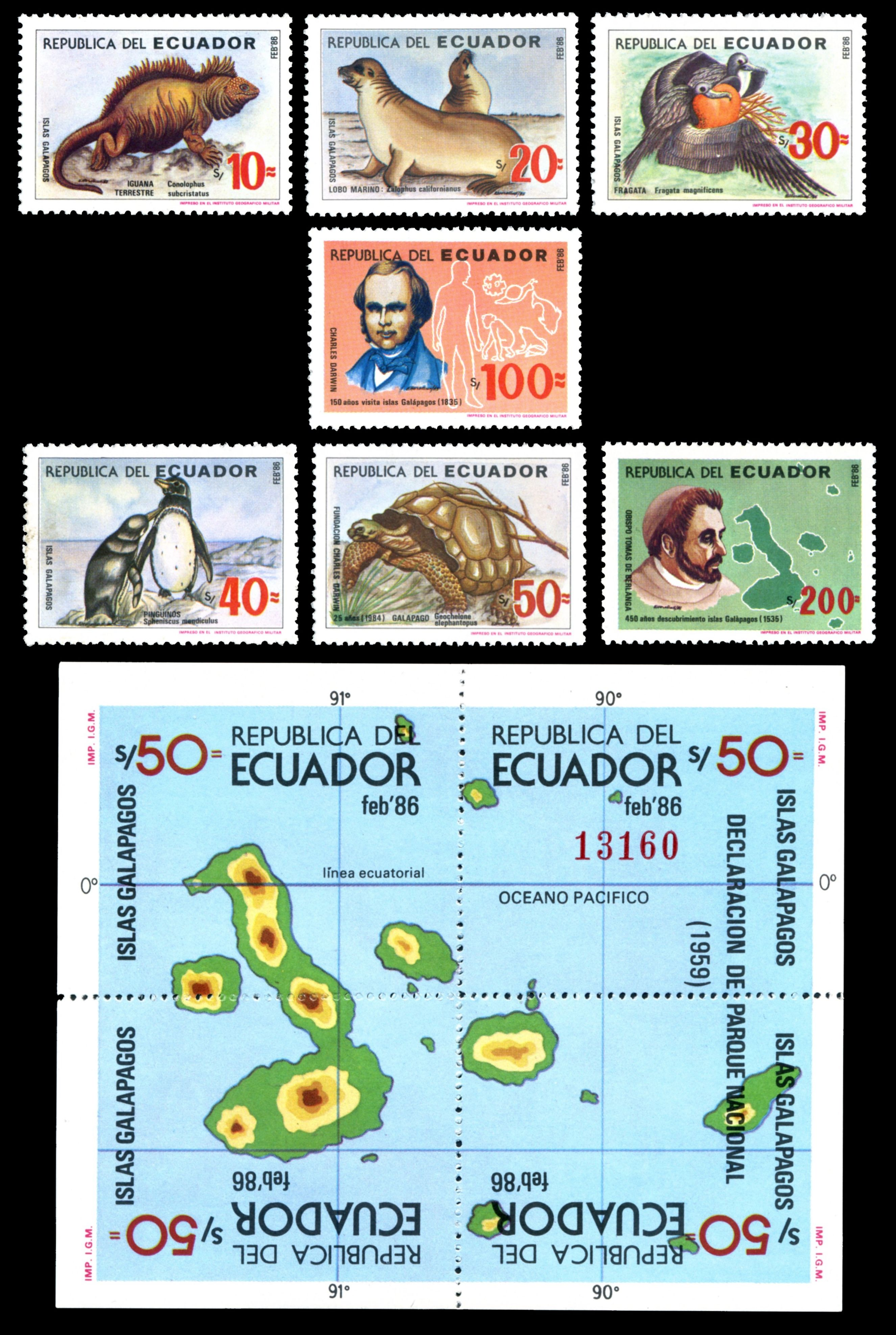 http://www.paleophilatelie.eu/images/sets/ecuador_1986_darwin.jpg