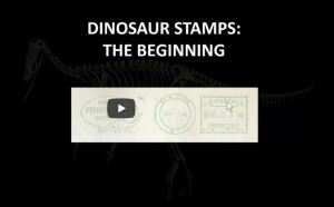 APS chat: Dinosaurs on Stamps, Part I with Dr. Jon Noad