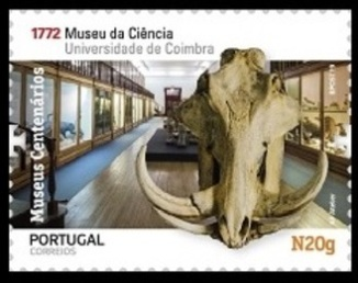 Science Museum of the University of Coimbra on stamp of Portugal 2019