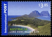 Lord Howe Island on stamp of Australia 2007