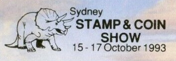 Not postal mark of Stamps Shoe in Sydney