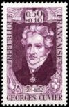 Georges Cuvier on stamp of France 1969