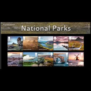 National Parks on stampss of UK 2021