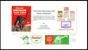Chocolate Dinosaurs and Meaty Mammals philatelic exhibition