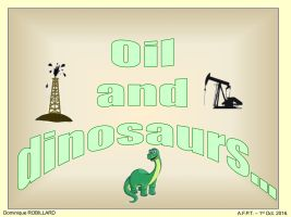 Oil and Dinosaurs philatelic exhibition