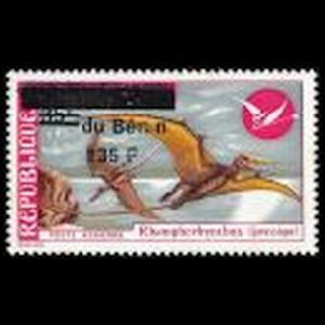 Dinosaurs on stamps of Benin 1995